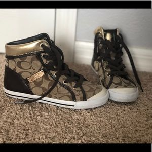 Coach High Top Casual Shoes